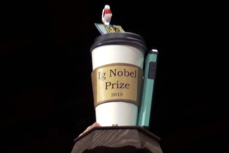 تعرف على الفائزين بجوائز نوبل للحماقة !