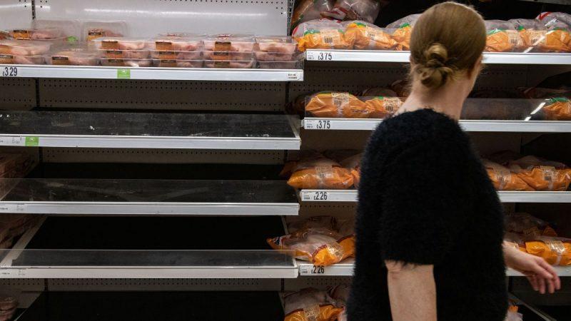 تقارير المملكة المتحدة مهددة باحتمال نقص الغذاء