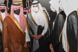 رئيس مجلس وزراء قطر يستقبل عبدالعزيز بن سعود في الدوحة - المواطن