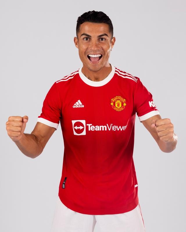 رونالدو مع مانشستر يونايتد