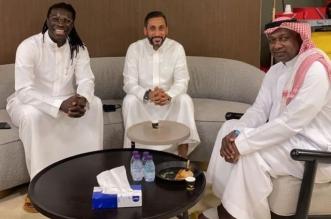 غوميز مع ماجد عبدالله وسامي الجابر 1