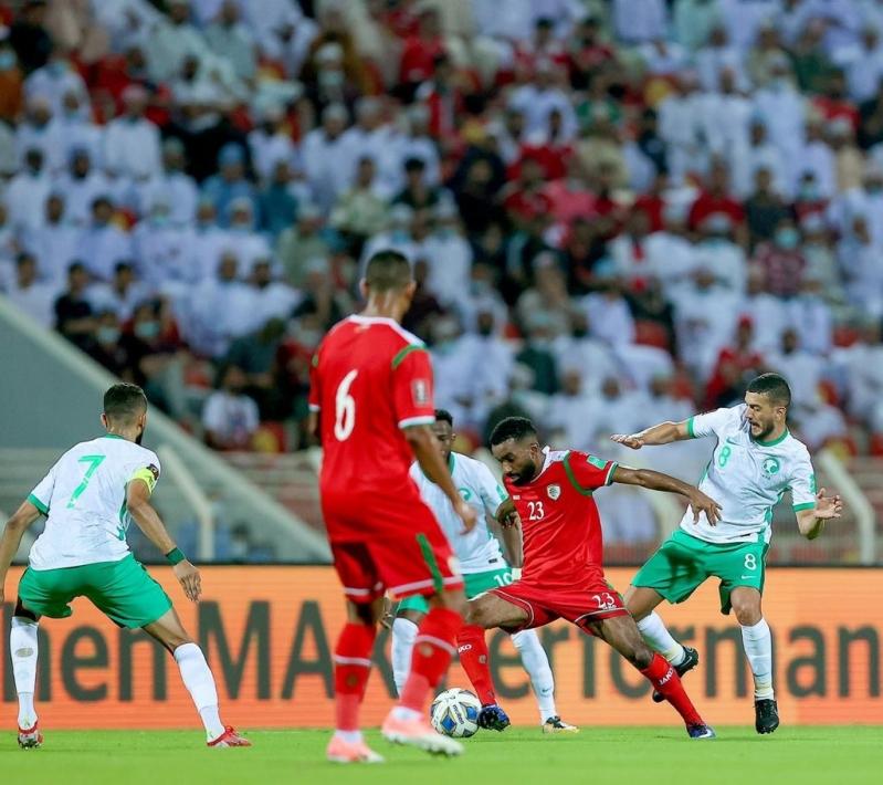 مباراة المنتخب السعودي وعمان 1