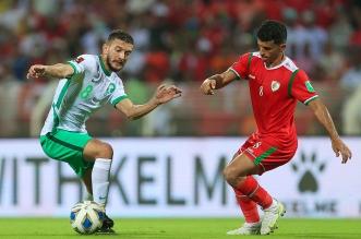 مباراة المنتخب السعودي وعمان