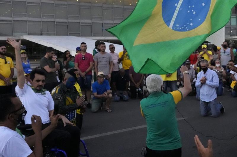 محاولة فاشلة لاقتحام الكونغرس في البرازيل
