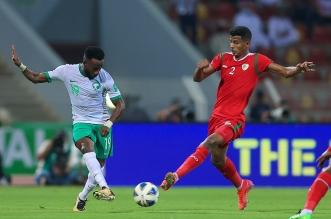 منتخب السعودية ضد عمان