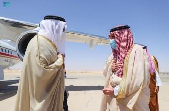 الخريجي يستقبل وزيري خارجية البحرين والكويت - المواطن