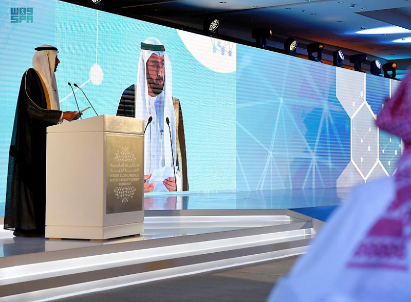 تحت رعاية محمد بن سلمان.. وزير الحرس الوطني يفتتح قمة الرياض العالمية للتقنية الطبية - المواطن