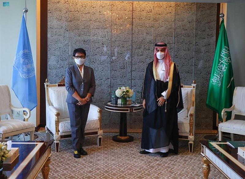 وزير الخارجية يبحث العلاقات الثنائية مع نظيرته الإندونيسية - المواطن