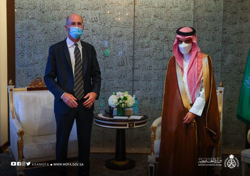 وزير الخارجية يناقش أبرز تطورات البرنامج النووي الإيراني مع المبعوث الأمريكي - المواطن