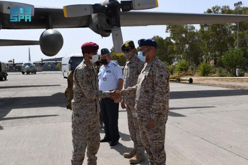وصول القوات البرية السعودية المشاركة في مناورات التمرين الرباعي إلى اليونان - المواطن