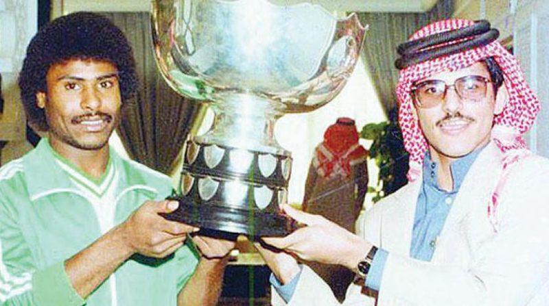 المنتخب السعودي بطل آسيا 1984