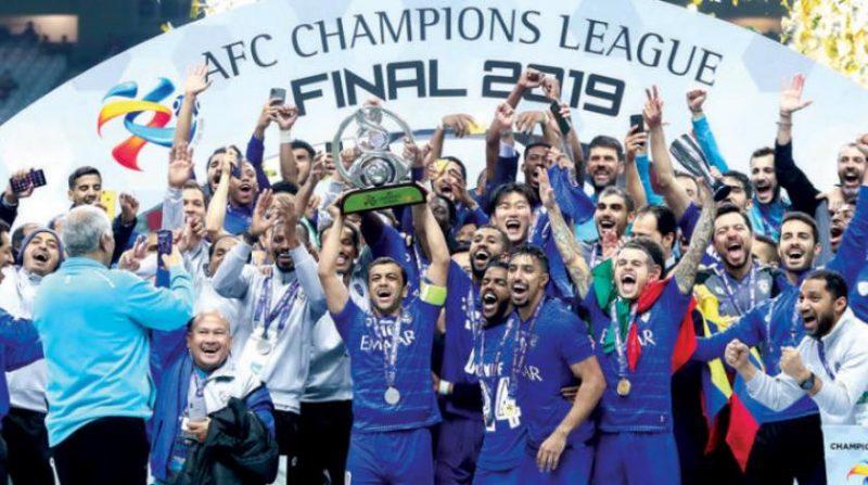 الهلال بطل دوري أبطال آسيا 2019