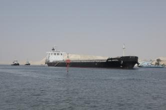 شاهد.. أول صورة للسفينة الجانحة في قناة السويس - المواطن