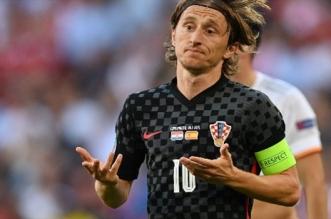 لوكا مودريتش لاعب كرواتيا