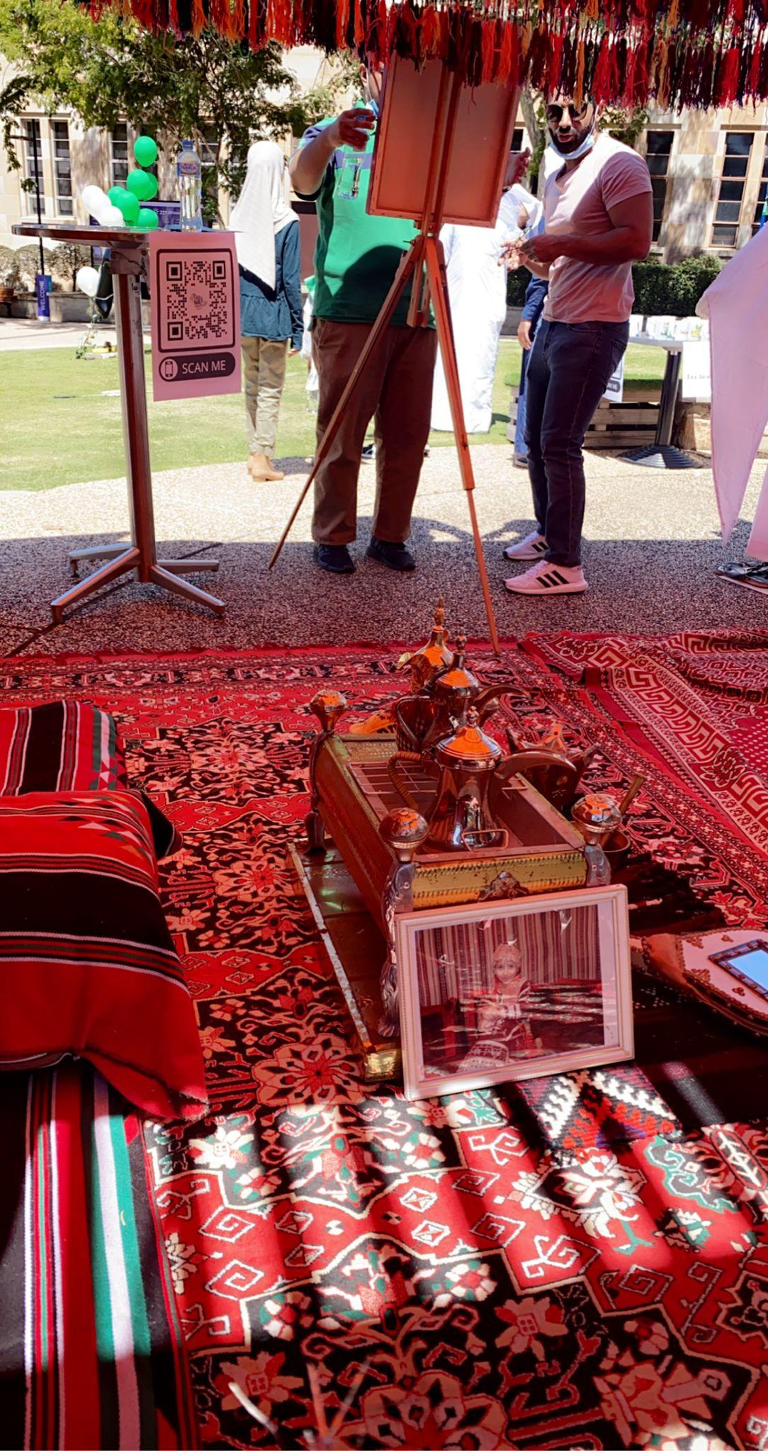 مبتعثوا مدينة برزبن الاسترالية يحتفلون باليوم الوطني الـ 91