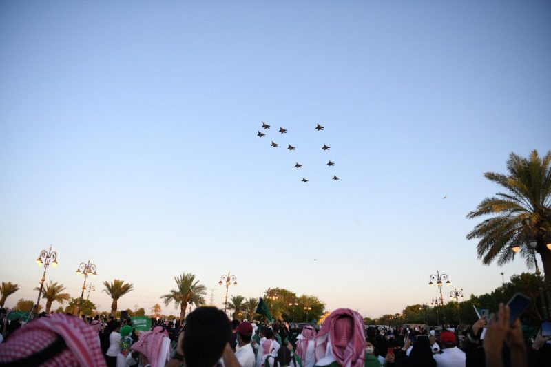 المقاتلات السعودية اليوم الوطني