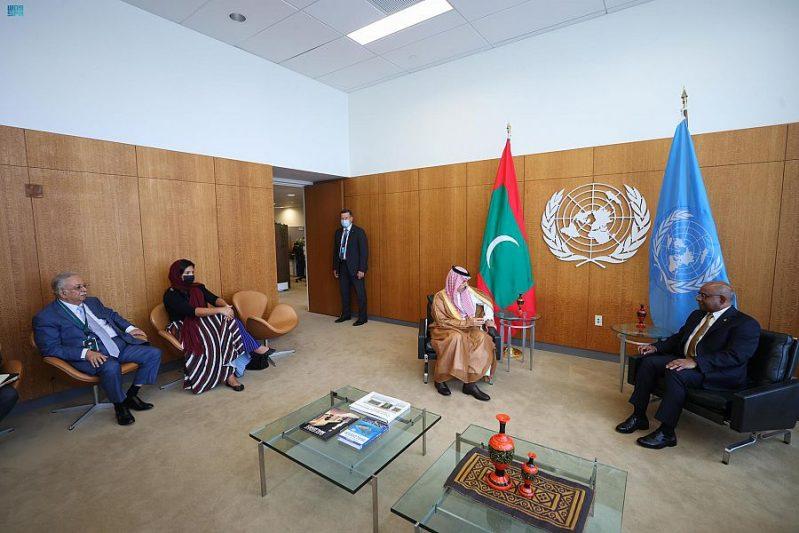 وزير الخارجية يبحث العلاقات الثنائية وسبل تعزيزها مع نظيره المالديفي - المواطن