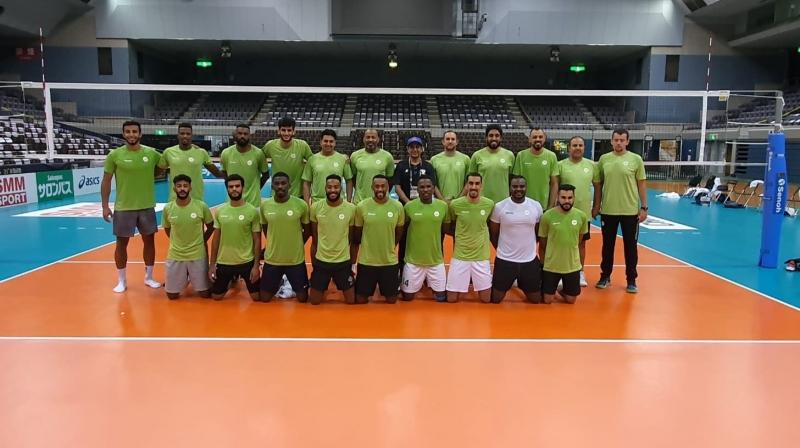 المنتخب السعودي لكرة الطائرة