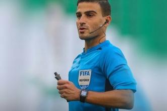 الحكم السوري حنا حطاب - مباراة المنتخب السعودي ضد عمان