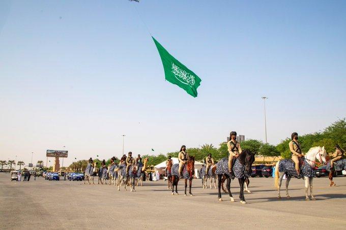 هيئة تطوير بوابة الدرعية تحتفي باليوم الوطني: خيّال العُوجا وأنا أبو تركي - المواطن