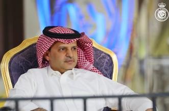 مسلي آل معمر رئيس النصر