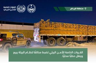 ضبط مواطن باع ونقل حطبًا محليًّا في الرياض - المواطن