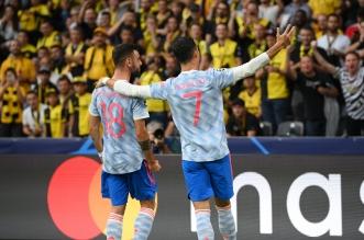 مانشستر يونايتد - زيدان مدرب ريال مدريد السابق - كريستيانو رونالدو وبرونو