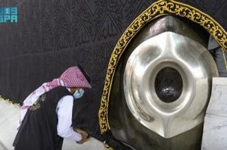 شؤون الحرمين تجري صيانة لإطار الحجر الأسود والركن اليماني - المواطن