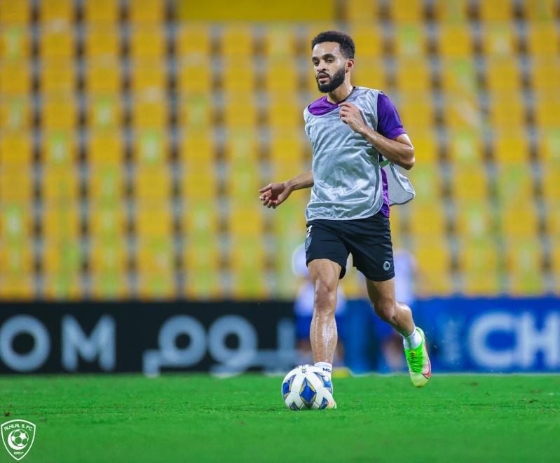 محمد البريك لاعب الهلال