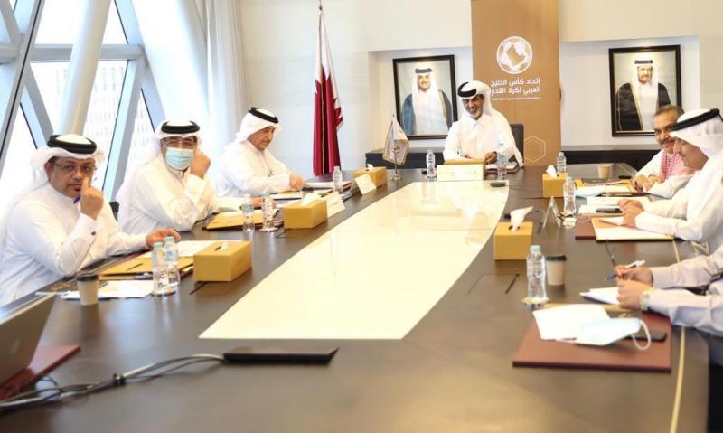 اجتماع في اتحاد القدم الخليجي