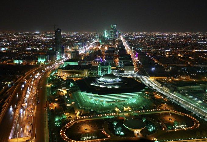 صورة صور جوية للعاصمة الرياض تخطف الأنظار احتفاءً باليوم الوطني