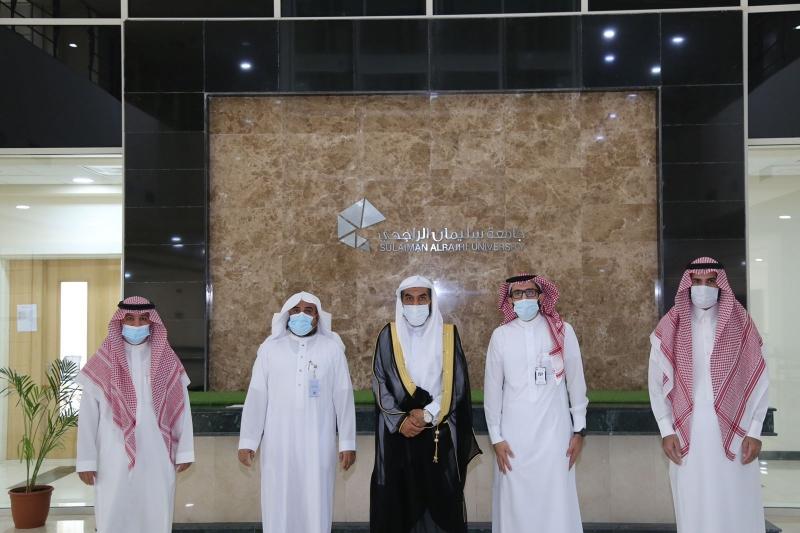 مدير الأمر بالمعروف في القصيم يزور جامعة سليمان الراجحي لبحث التعاون - المواطن