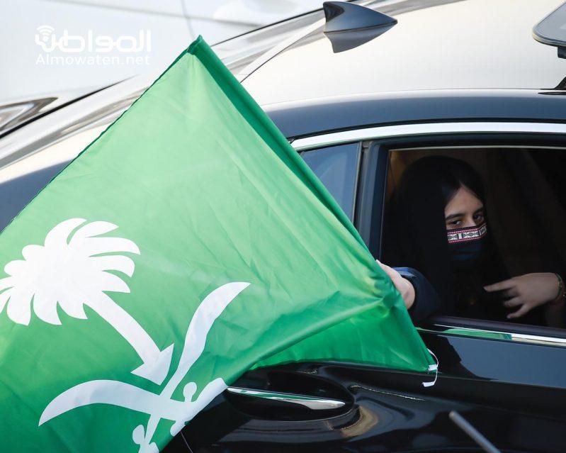 ليلة خضراء في حب الوطن .. عشت ودمت آمنًا مطمئنًا - المواطن
