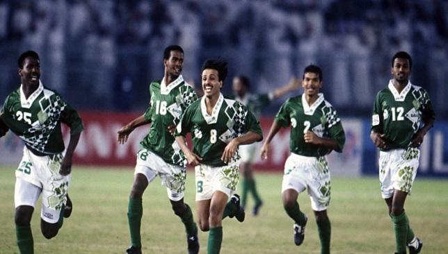 المنتخب السعودي في أمم آسيا 1996