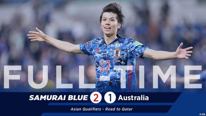 اليابان ضد أستراليا
