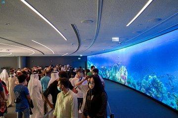 إقبال كبير على جناح المملكة في إكسبو 2020 دبي - المواطن