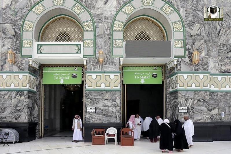 210 باباً تشرع خدماتها لقاصدي المسجد الحرام خلال رمضان
