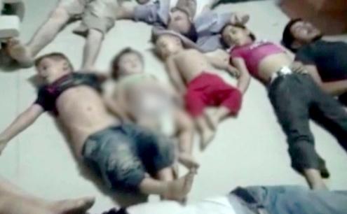 بشار الأسد يرتكب مجزرة في الغوطة: 1188ضحية غالبيتهم أطفال ونساء - المواطن