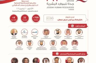 22 متحدثاً يستعرضون أبرز مبادرات توطين الكفاءات بمنتدى جدة للموارد البشرية - المواطن