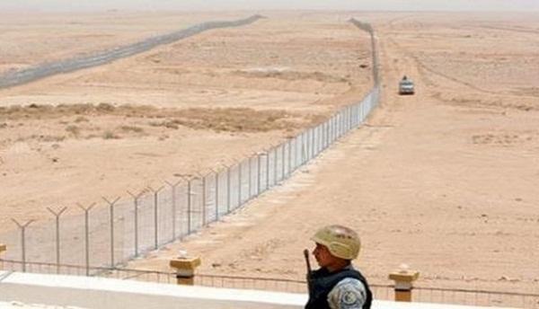 الحدود السعوديه الشمالية
