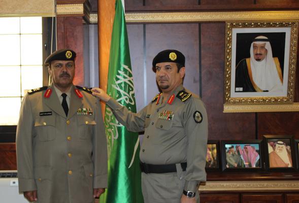 اللواء معتوق بن سعيد الزهراني - عبدالله بن محمد فايز السبيعي