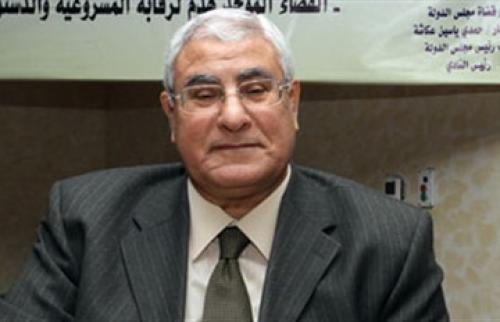 رئيس مصر الانتقالي يتأهب لحلف اليمين بعد دقائق - المواطن