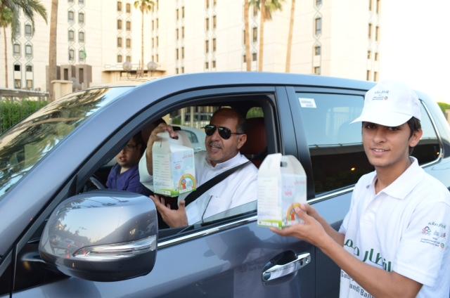 """جمعية الأطفال المعوقين ترعى حملة إفطار صائم بـ""""الملك سعود"""" - المواطن"""