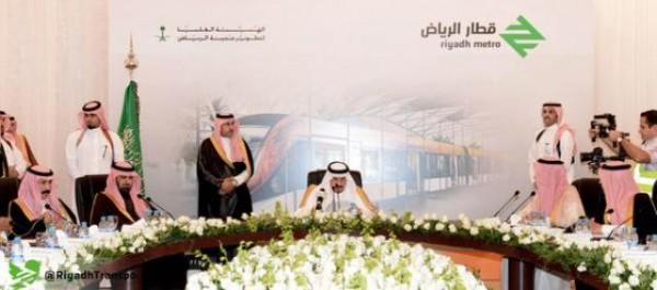 العمل مستمر في نقل آلات الحفر العميق لمشروع قطار الرياض - المواطن