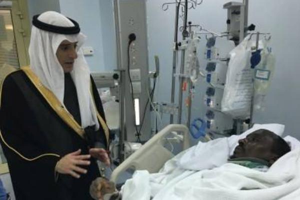 زيارة عادل الجبير وزير خارجية المملكة للسفير الكيني2