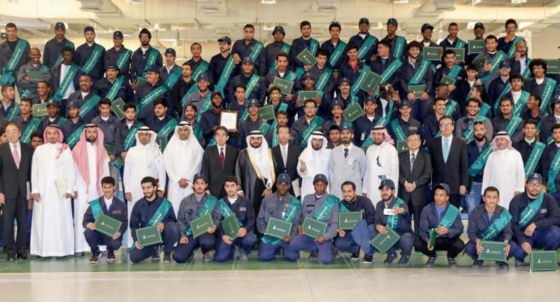 249 شاباً سعودياً يدعمون الصناعة الوطنية في مجال البلاستيك
