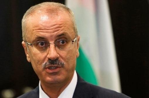 رئيس الوزراء الفلسطيني -رامي الحمد