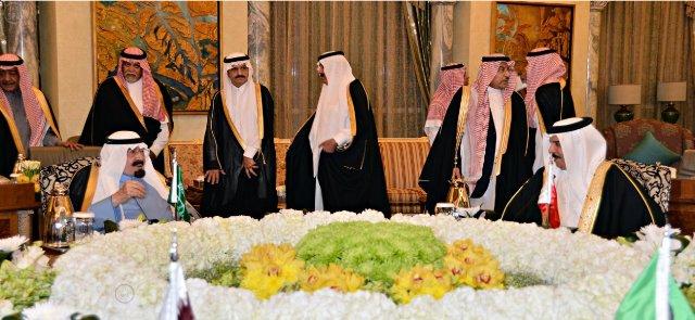 الملك عبدالله و ملك البحرين