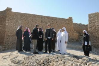 فريق البنك الدولي يزور المواقع التراثية بجزيرة تاروت ودارين - المواطن