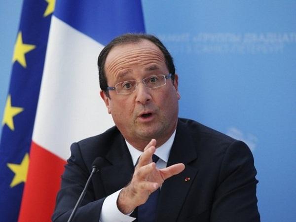 الرئيس الفرنسي -فرانسوا هولاند